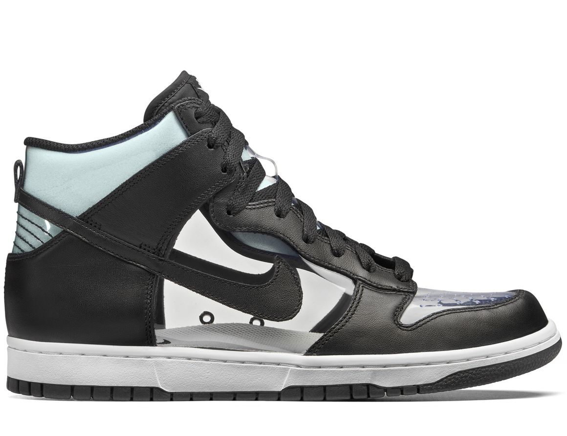 Comme des Garçons x Nike Sneakers Nike Dunk High Clear