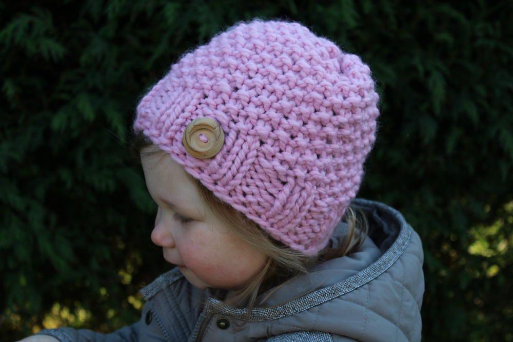 Mini Seed Stitch Hat | Seed stitch, Knitted hat patterns and Knit hats