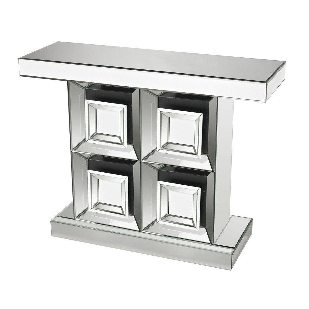 This Liberty Mirrored Console Table By Sterling Provides A Modern  # Muebles Google Translate