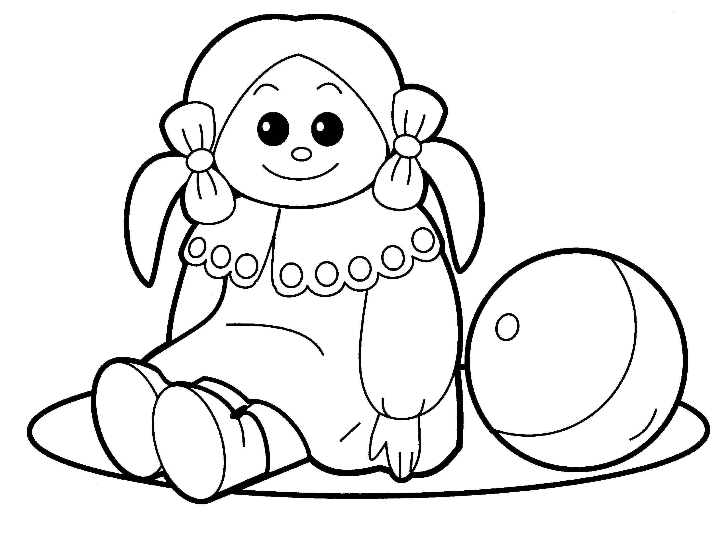 Christmas Toys Coloring Pages Kids Printable Id