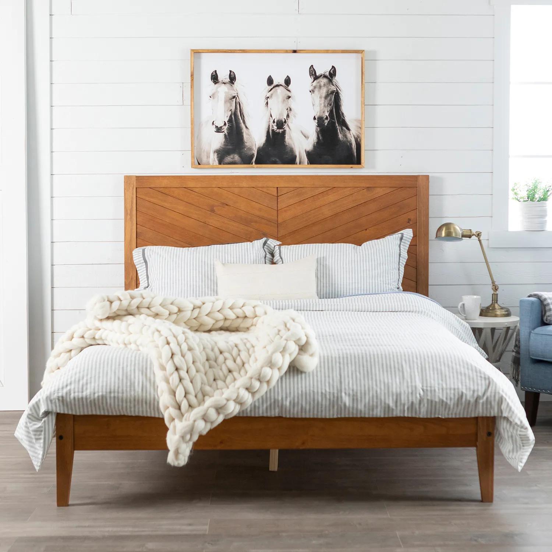 Null Diy Furniture Bedroom Solid Wood Bed Furniture