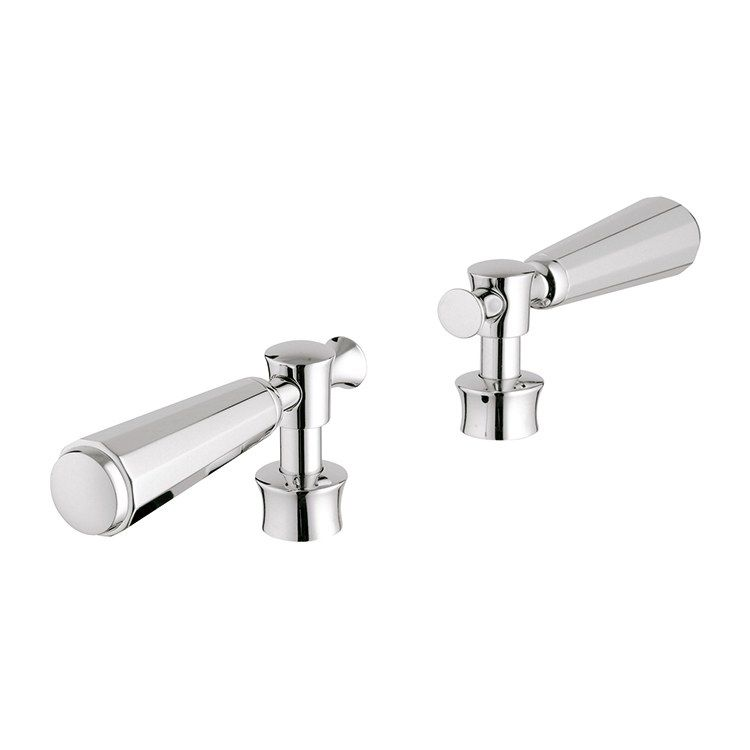 Kensington Lever Faucet Handles Set Of 2 In 2020 Faucet Handles