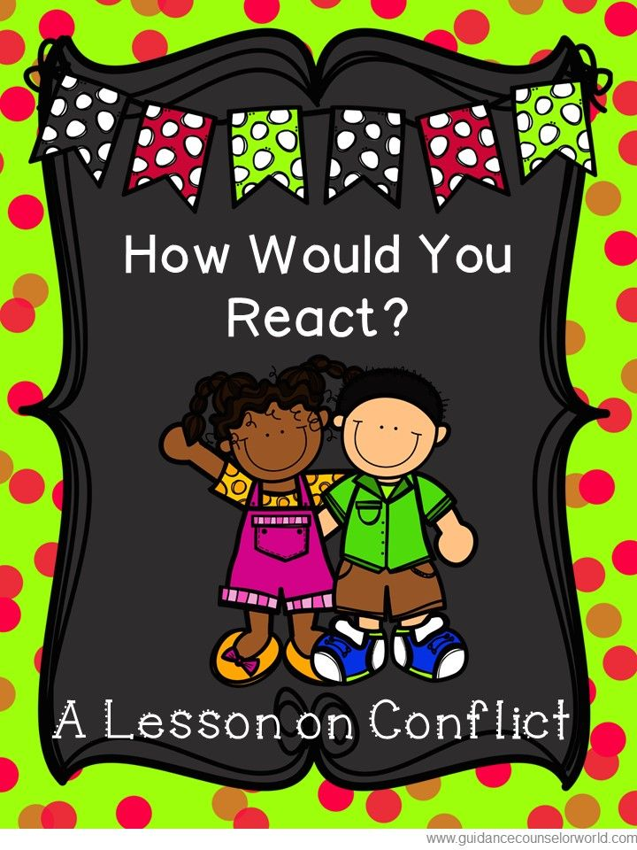 Guidance lesson on Conflict Resolution for Grades 2-3 ...