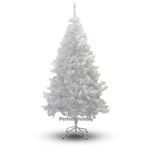 4ft white merry christmas trees artificial plastic unlit base indoor decoration