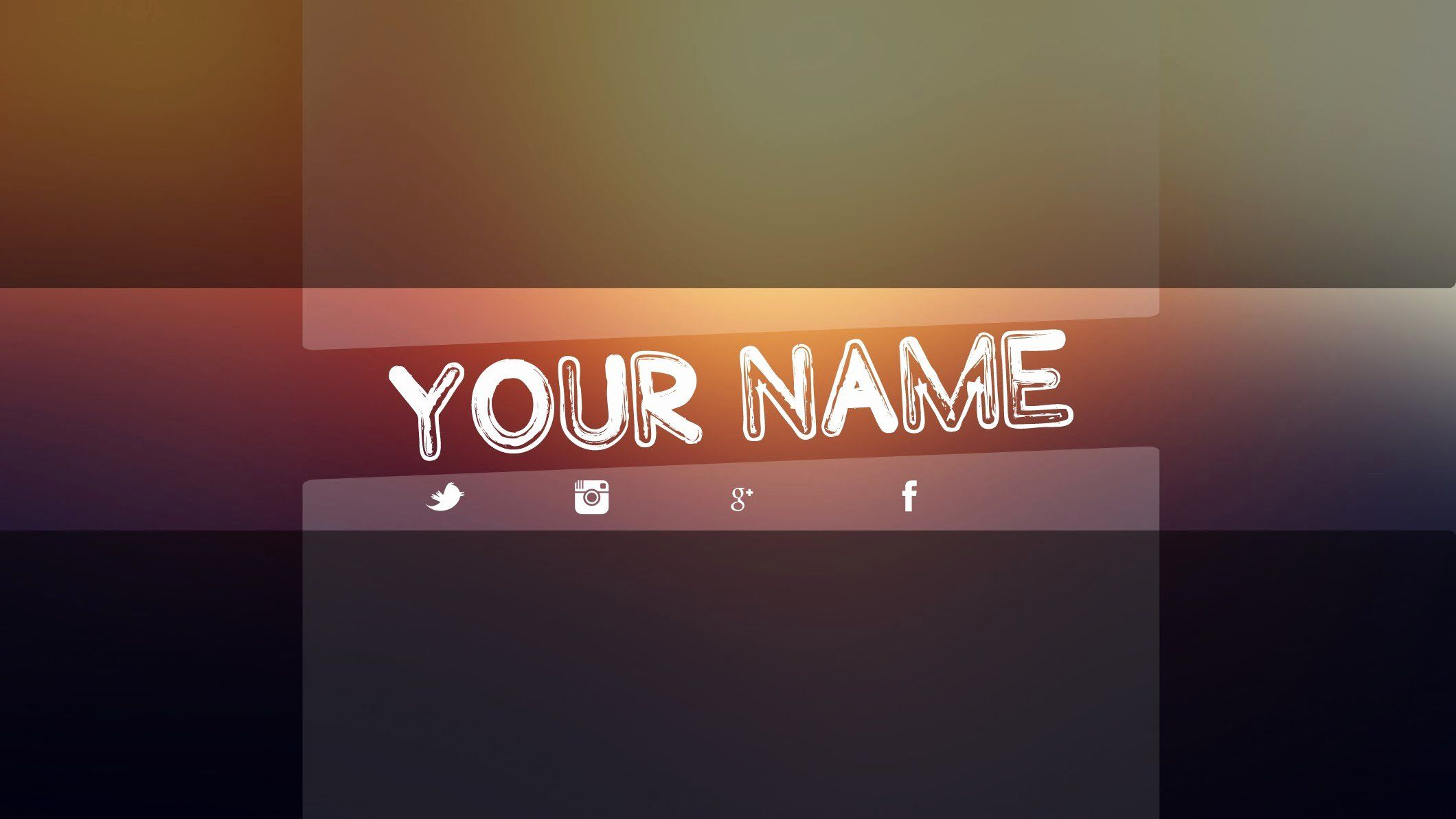 New Youtube Banner Template Psd Free in 2020 Banner