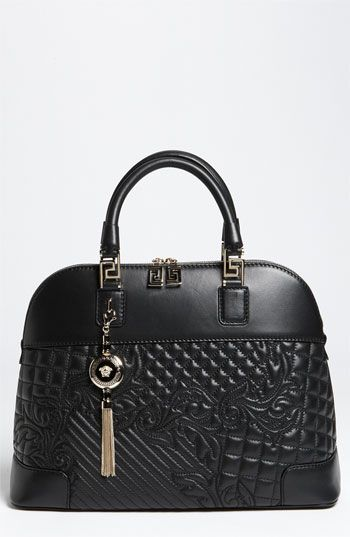 a2c6d52f72b Versace 'Vanitas' Embroidered Leather Satchel available at. Versace , from  Iryna. VERSACE ✤HAND'me.the'BAG✤