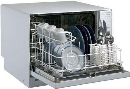 smallest countertop dishwasher