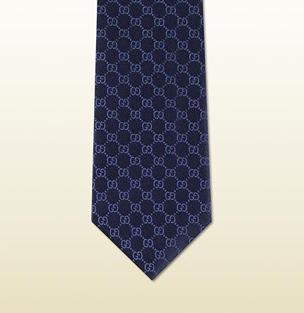 835c32646dfd GG pattern silk tie | Ideas for Father's Day | Silk ties, Tie, Silk