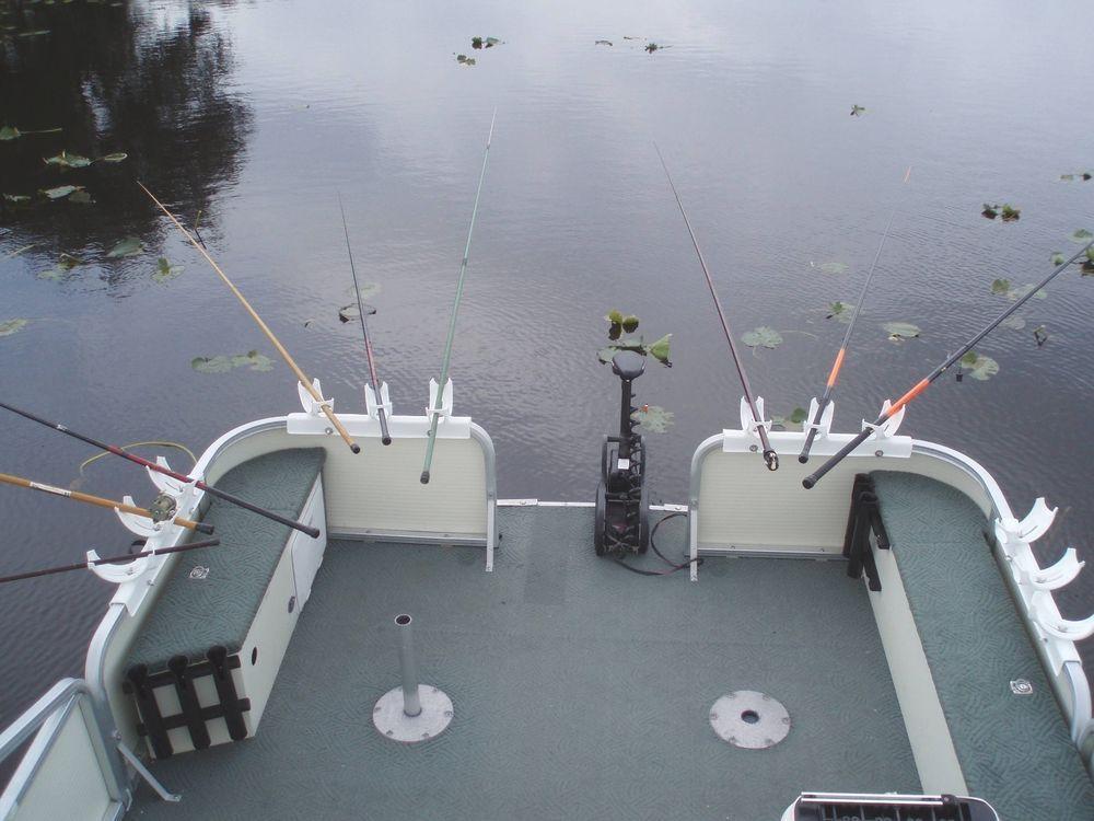 "Katydid Triple Bay Box ""Spider"" Fishing Rod Holders for"
