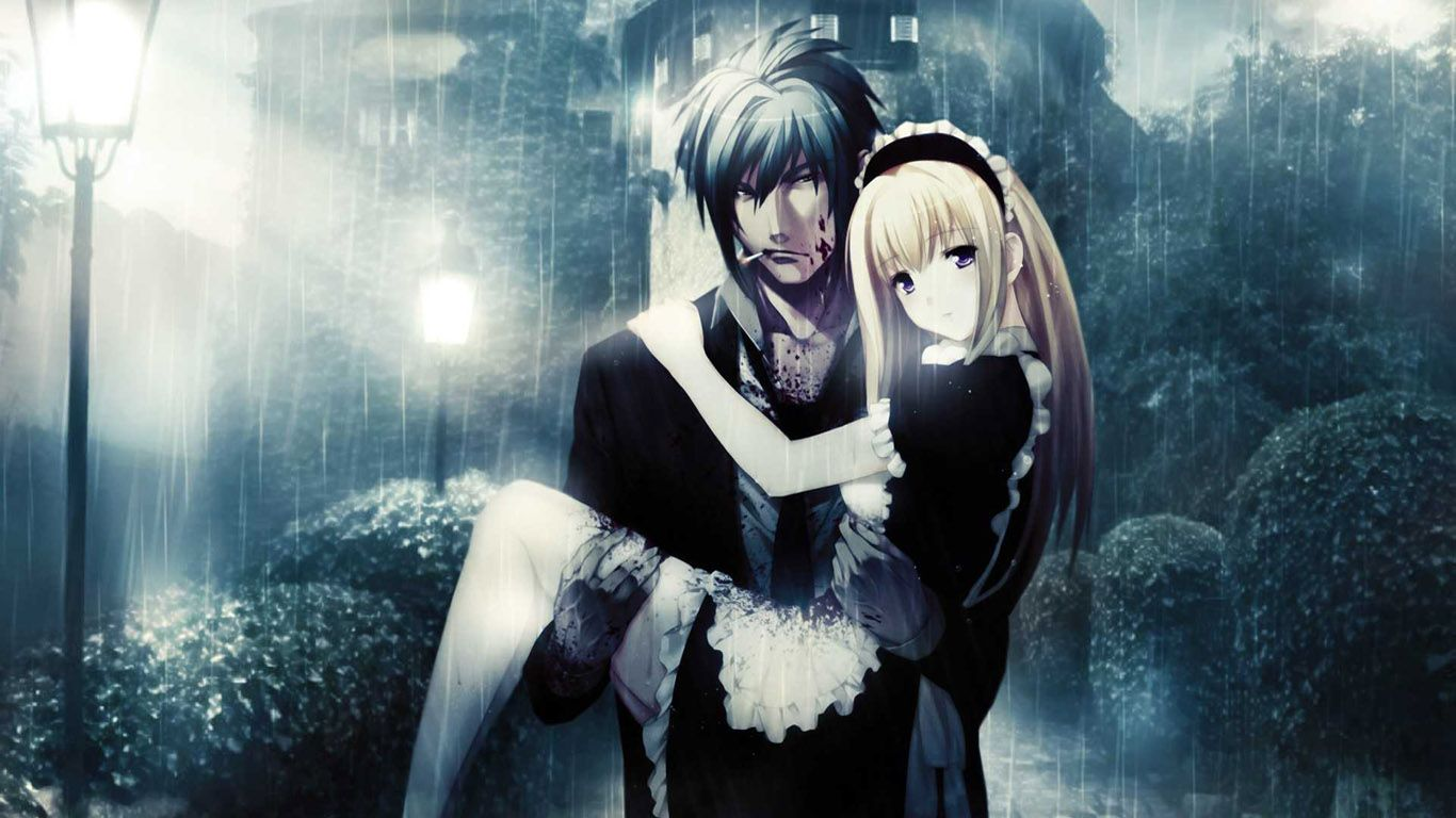 Romantic Anime Couples Wallpapers Cute In Love