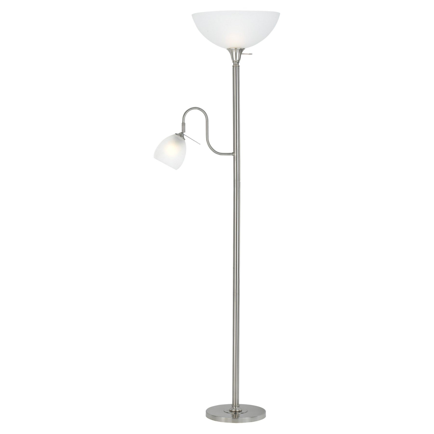 Cal Lighting Bo 2054 Bs Torchiere And Reading Floor Lamp Reading