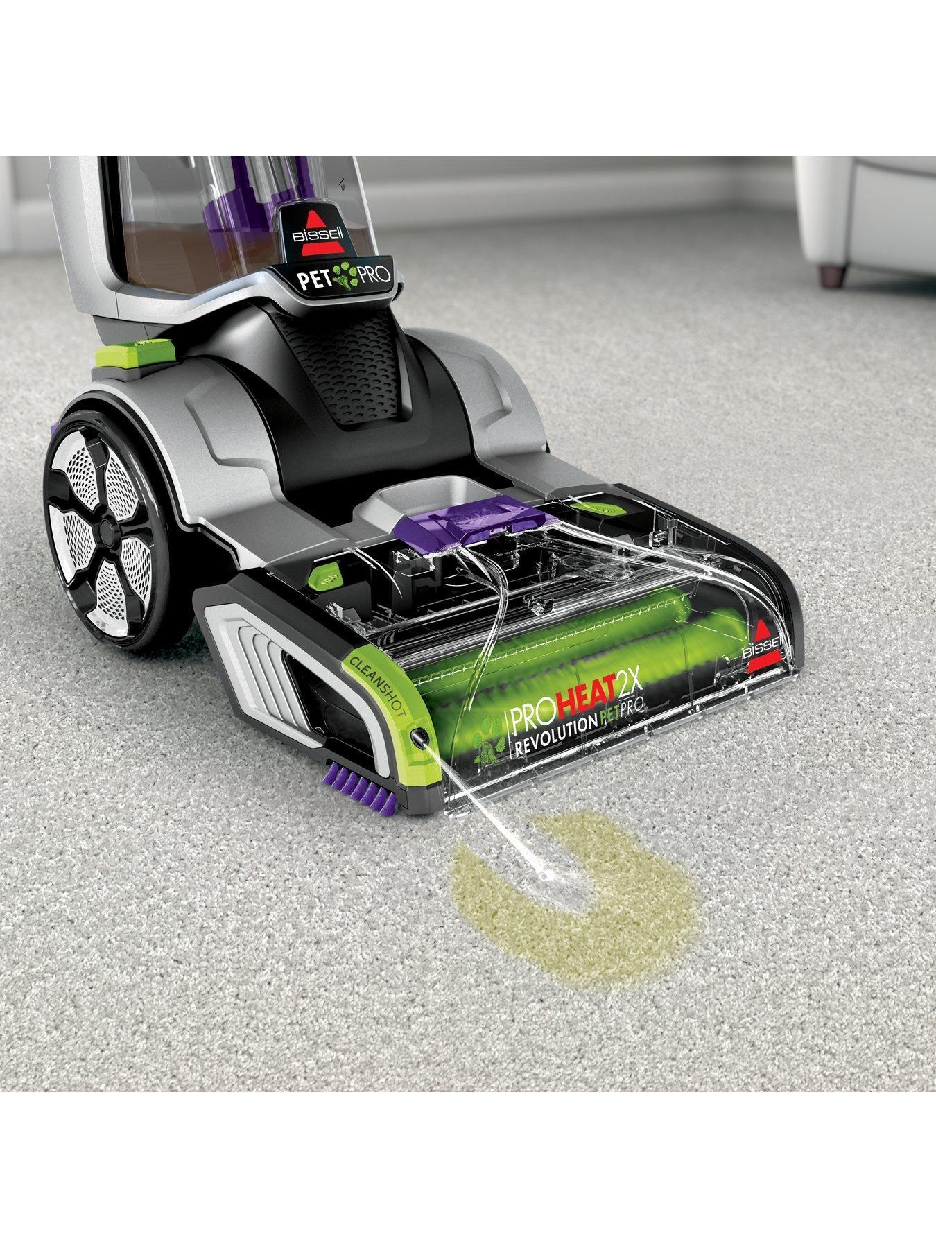 Bissell bissell proheat 2x revolution pet pro carpet