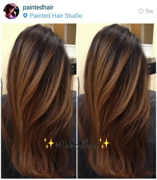 Highlights Asian Hair From Paintedhair Studio Wherever That Is