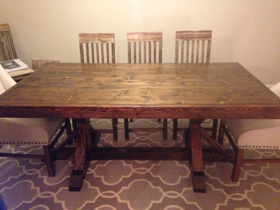 Submitted By Eric R Original Shanty2Chic Project It Was Inspired Dark Walnut StainDining TablesRestoration HardwareBoardChicStains