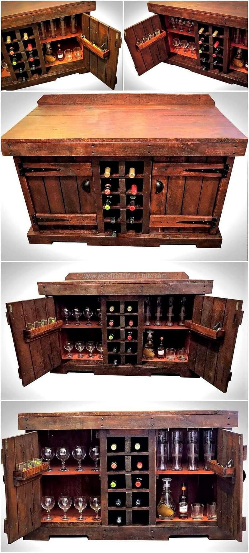 pallets made bar table plan 9 | Stool woodworking plans ...