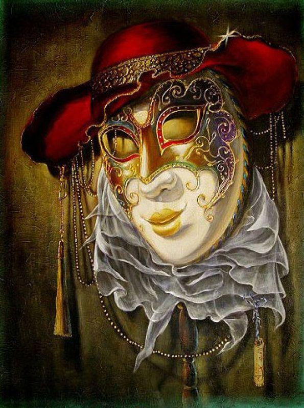 картинки венецианских масок для декупажа карьера является ярким