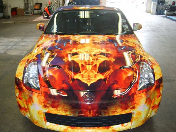 Custom Flame Graphics For Trucks  Wraps Vinyl Graphic Wraps - Custom vinyl car hood decals