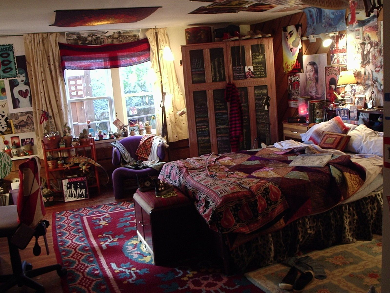 Hippie Schlafzimmer The Film Juno Juno 39s Bedroom Set Production Design Props