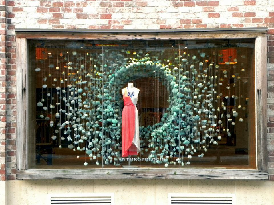 Anthropologie Autumn Windows 2012 | International Visual