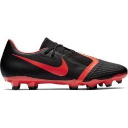 Photo of Nike Men's Football Shoes Lawn Phantom Venom Academy Fg, Size 47 In Black / bright Crimson-Black, Size