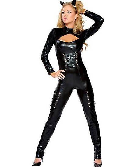 Waooh 69 - Dress Sexy Costume Black Cat Suit  sc 1 st  Pinterest & Waooh 69 - Dress Sexy Costume Black Cat Suit | Happy Halloween ...