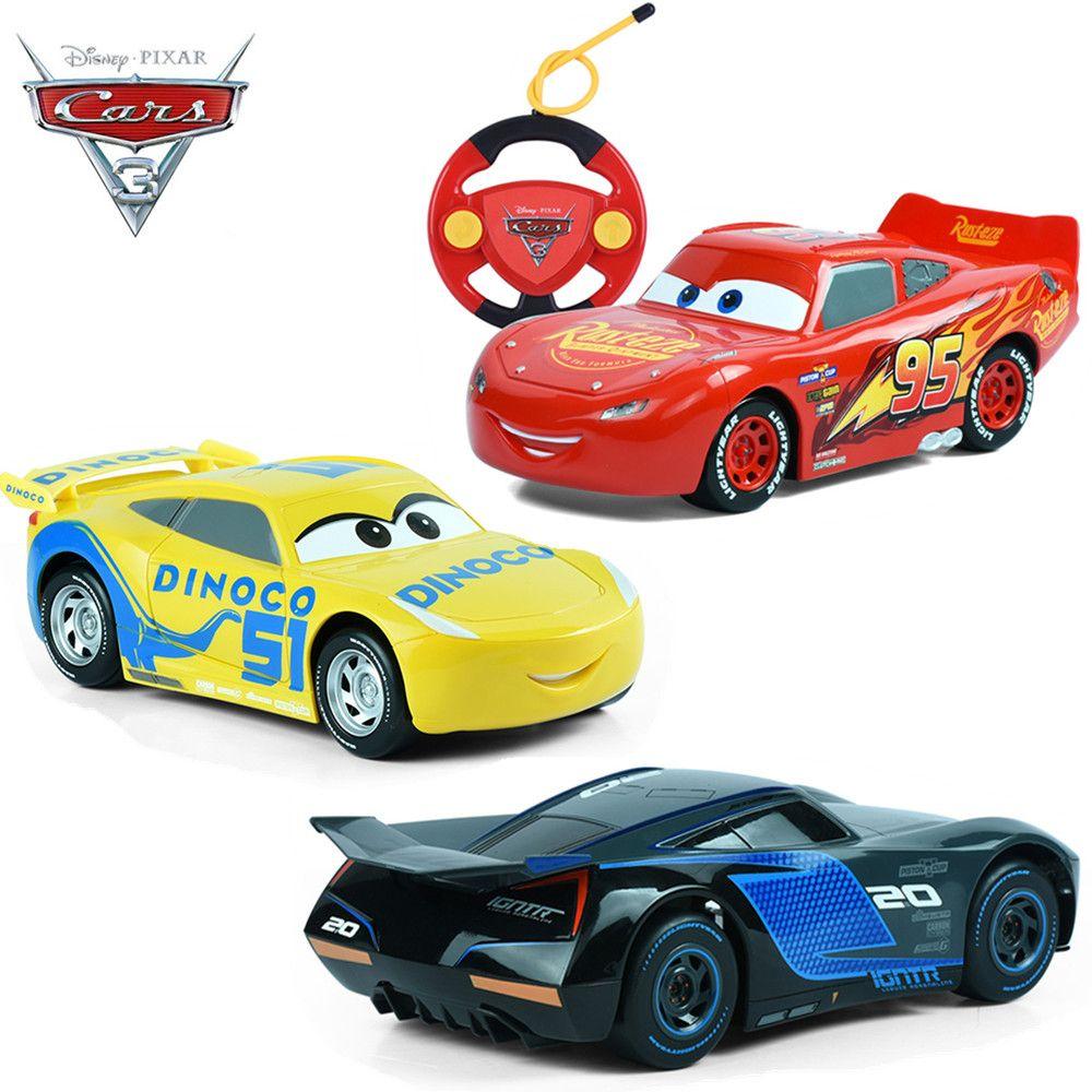 disney cars 3 nouveau mcqueen jackson cruz t l commande juguete carros jouets rc voitures 3 pour. Black Bedroom Furniture Sets. Home Design Ideas