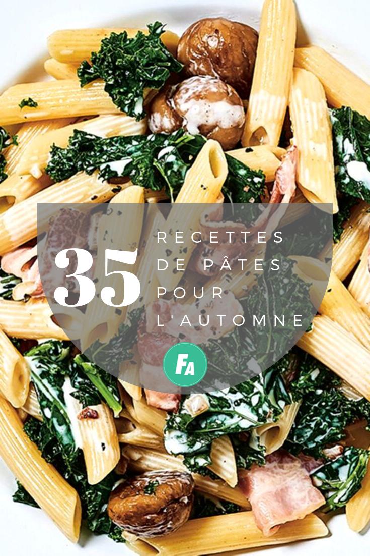 Pates Italiennes 10 Recettes D Automne Faciles Et Gourmandes Idee Repas Automne Recette Pate Italienne Repas Automne