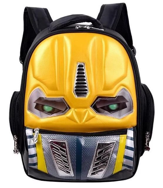 ac218809aa2a Transformers School Bag Children 4-8Years Kids Backpack Mochila Bag  Waterproof Cartoon Boys Book Bag