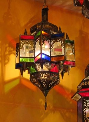 Large Moroccan turret lantern (With images)   Moroccan