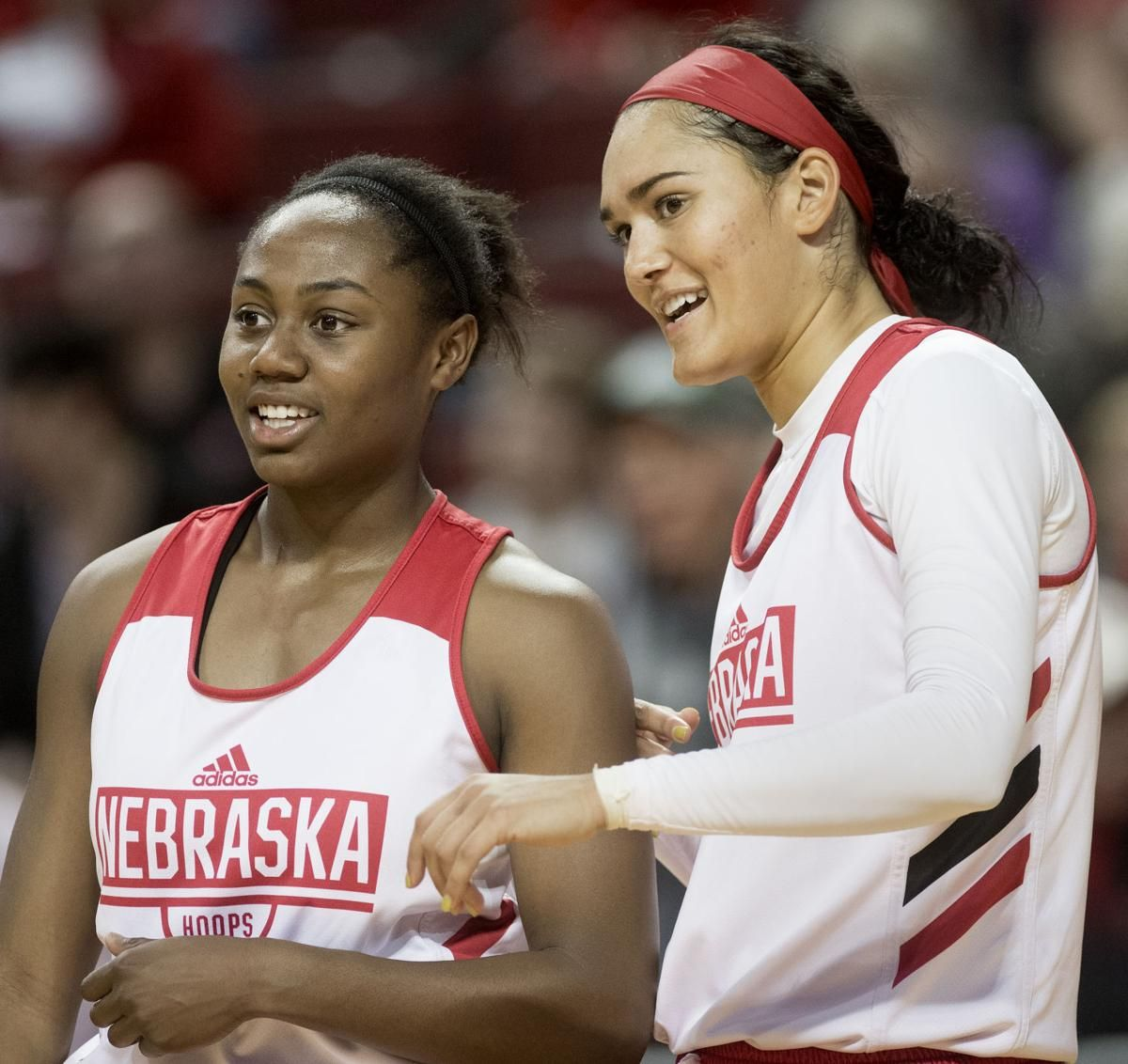Fastbreak points Lineups and quick hits for Nebraska