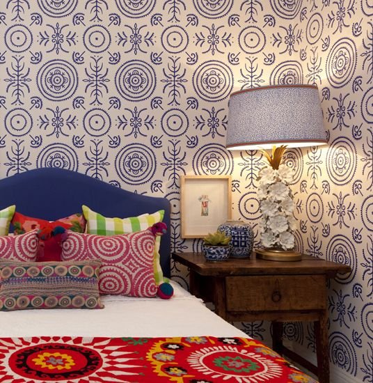 Eclectic Bedroom By Anna Spiro