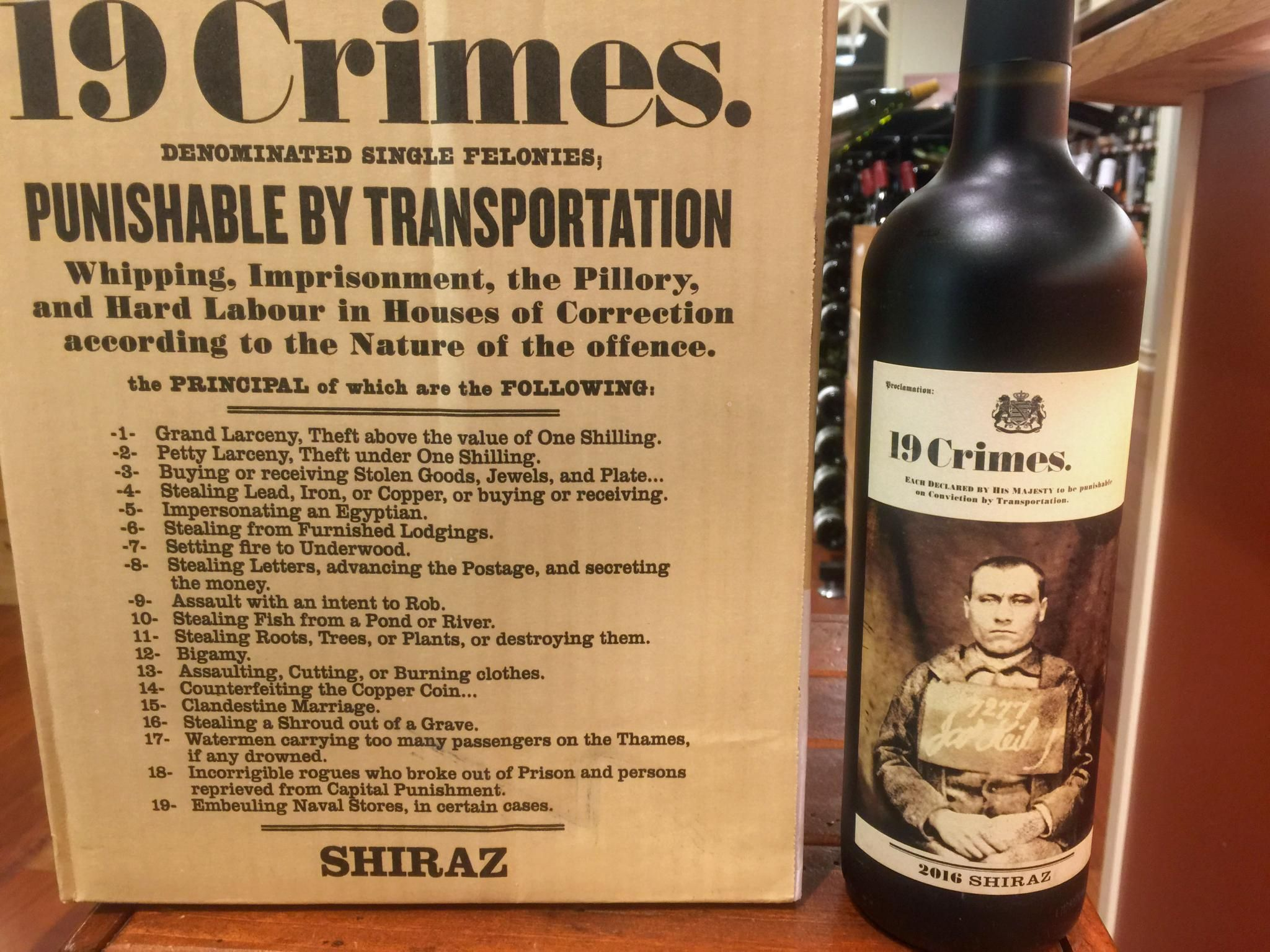 19 Crimes is one of our bestselling wines and now they