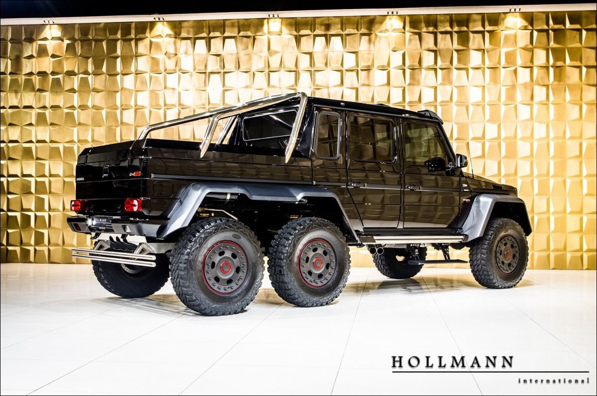 Mercedes Benz G 63 6x6 Amg Brabus 700 Hollmann Luxury Pulse Cars Germany For Sale On Luxurypulse Benz G Amg Mercedes