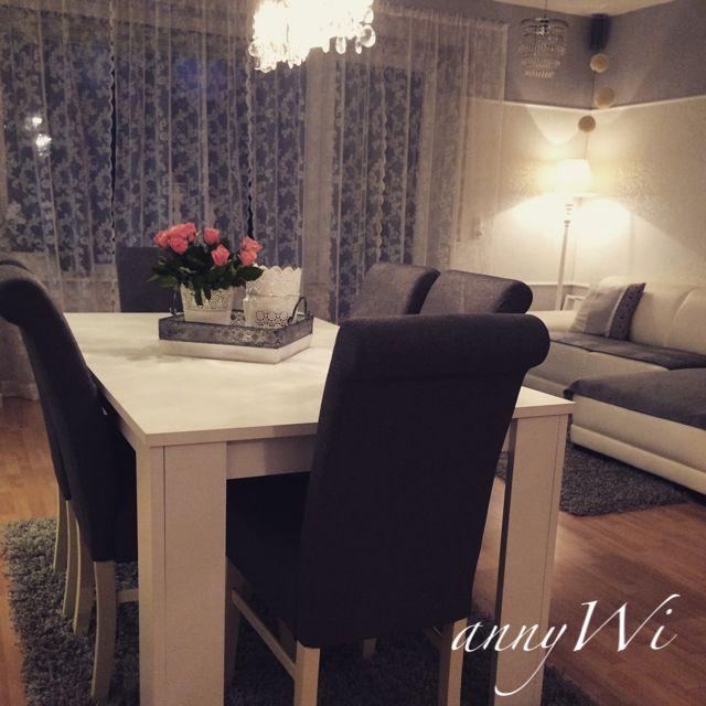 Home Livingroom Shabby Vintage Ikea Wohnzimmer Esszimmer