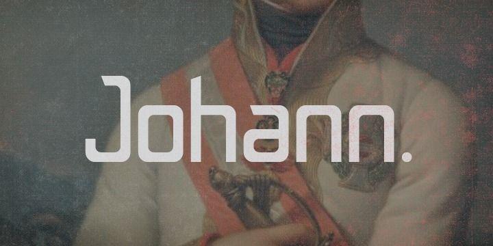 Johann Font Family