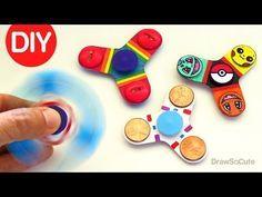 Video Fidget Spinner Selber Bauen Diy Anleitung Spielzeug Diy Diy Anleitungen Zappeln Spielzeug