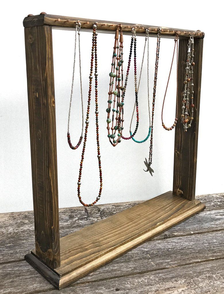 Necklace Display Necklace Rack Necklace Stand Jewelry Stand Wood Jewelry Display Necklace Han Diy Necklace Display Diy Necklace Stand Wood Jewelry Display