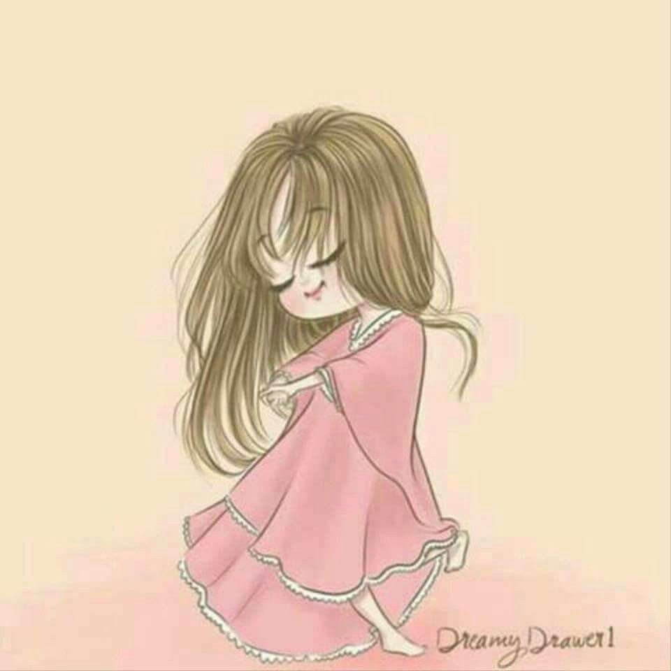 Pin By Nona Wafi On صور منوعــــه Cartoon Girl Drawing Girly Art Illustrations Girly Drawings