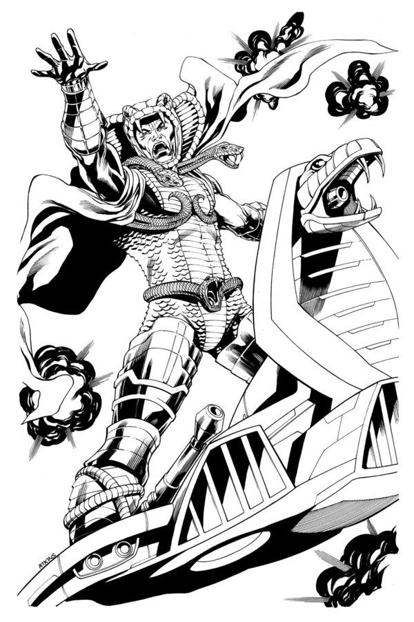 Cobra Serpentor by *RobertAtkins on deviantART | engraving projects ...