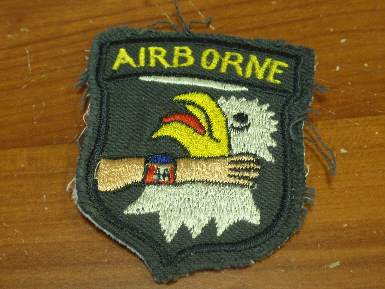 Time Traveler Militaria - U S  Vietnam War Airborne Patch   Army