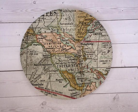 World map mouse pad mousepad mat round rectangle chic cute world map mouse pad mousepad mat round rectangle chic cute preppy computer gumiabroncs Images