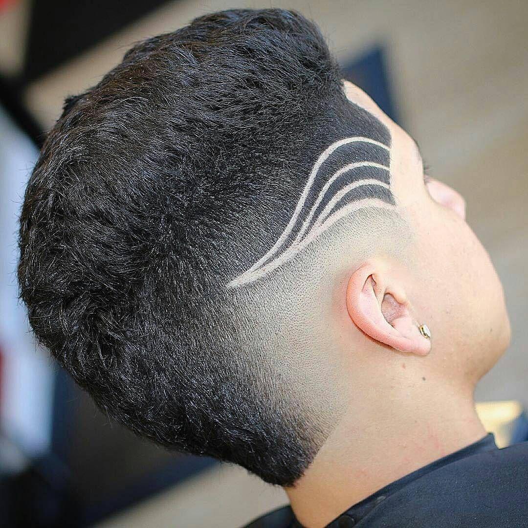Fade designs lines coisa pra fazer pinterest peinados for Peinado fade