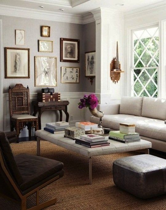 Modern Mix: Antique Chairs In Contemporary Company