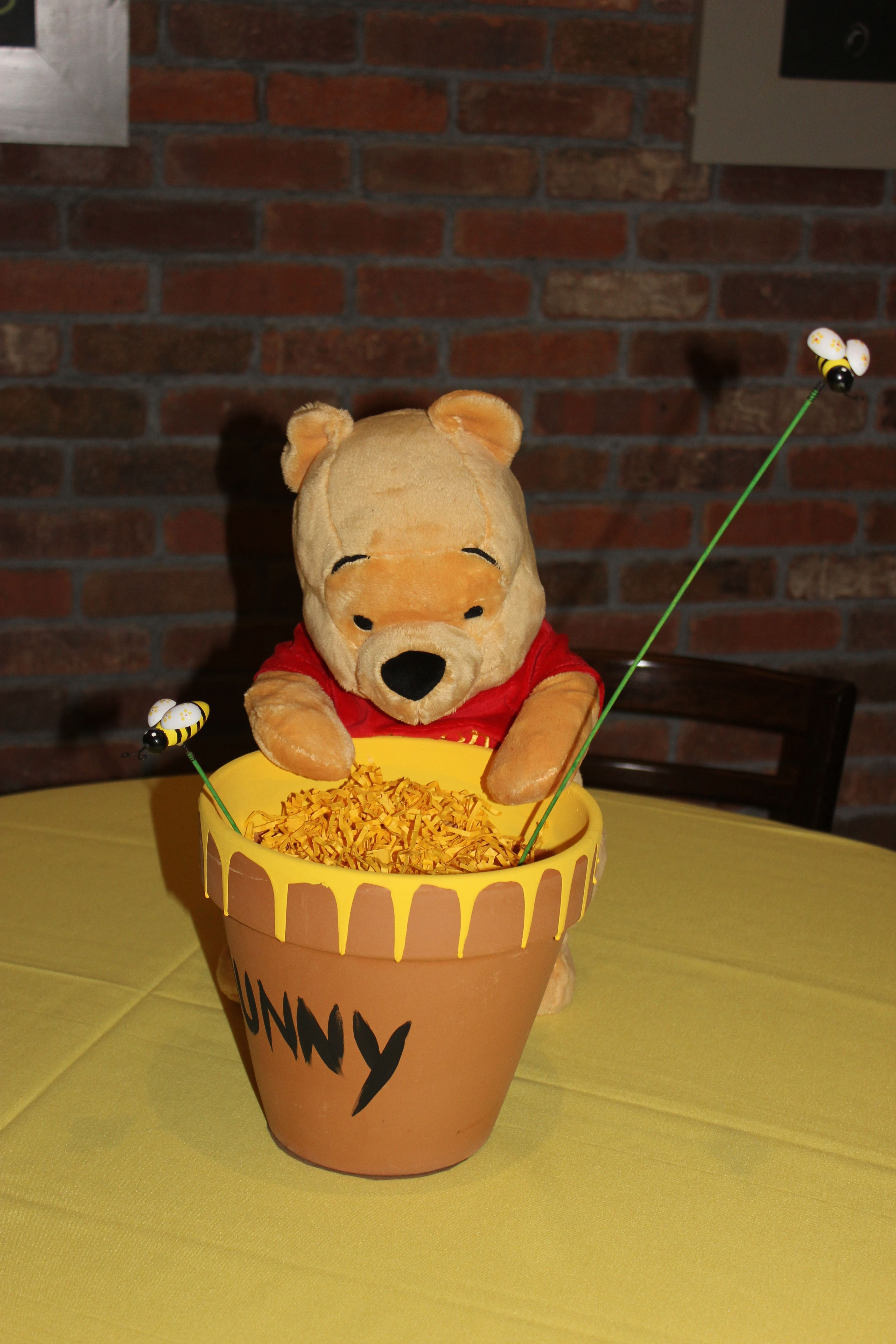 Winnie The Pooh Baby Shower Centerpiece : winnie, shower, centerpiece, Magali, Disney, Shower,, Shower, Center,