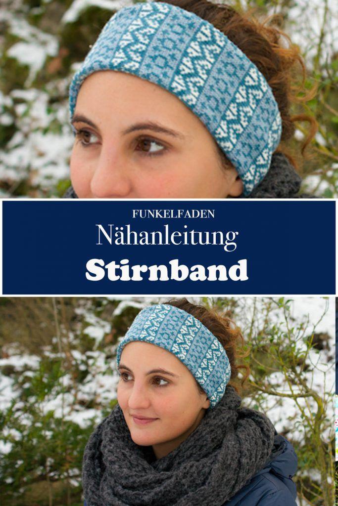 Nähanleitung - Stirnband nähen für Erwachsene | Nähen - Accessoires ...