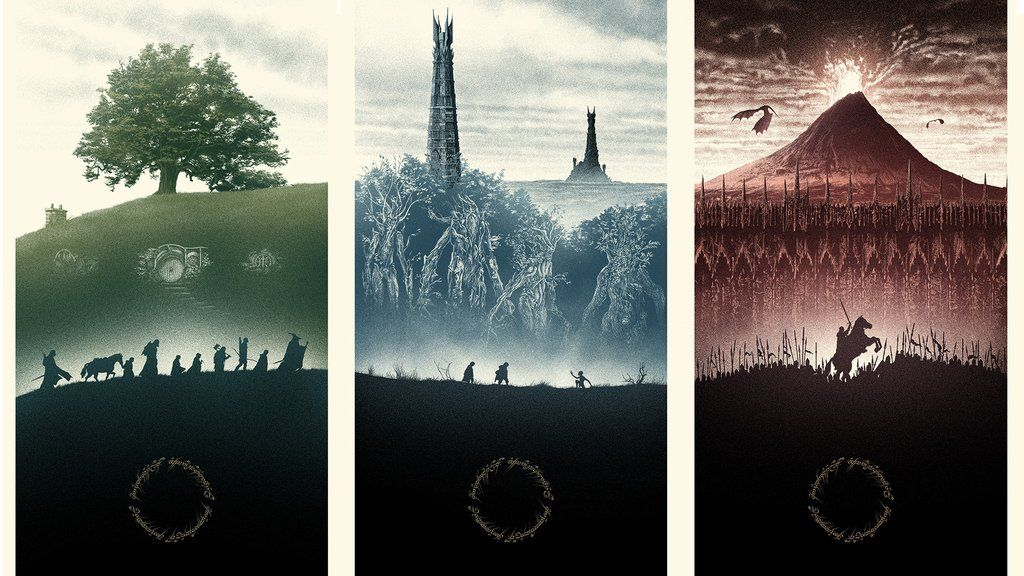 Lord Of The Rings Wallpaper By Marko Manev 1920x1080 Seigneur Des Anneaux Affiches Imprimees Affiche
