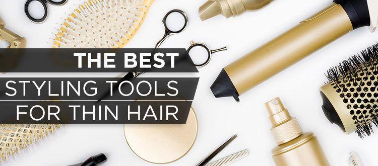 Choosing The Best Hair Styling Tools For Fine Hair Toppik Hair Blog In 2020 Cool Hairstyles Fine Hair Hair Tools