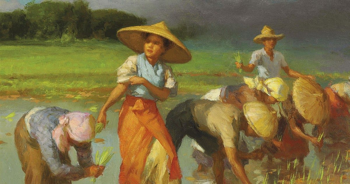 Fernando Amorsolo (18921972) Filipino art, Philippine