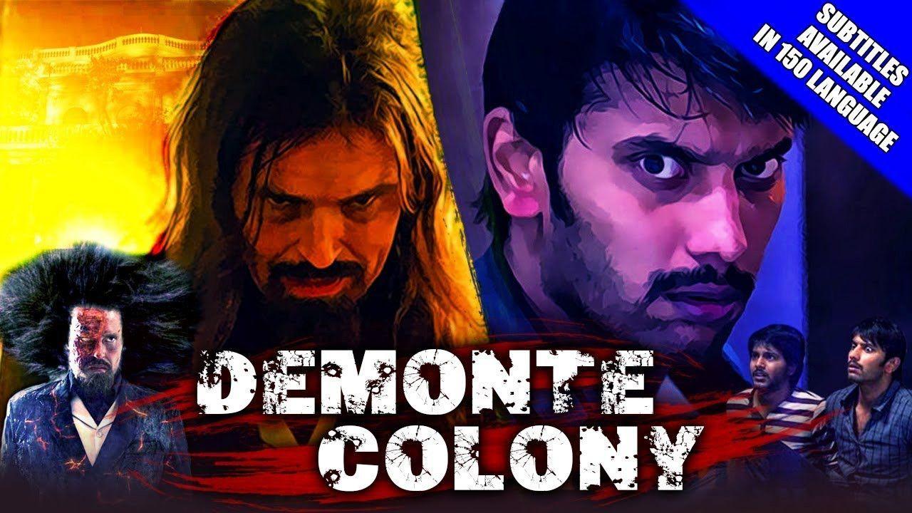 Demonte Colony 2018 Hindi Dubbed Movie 720p Hdrip 900 350mb