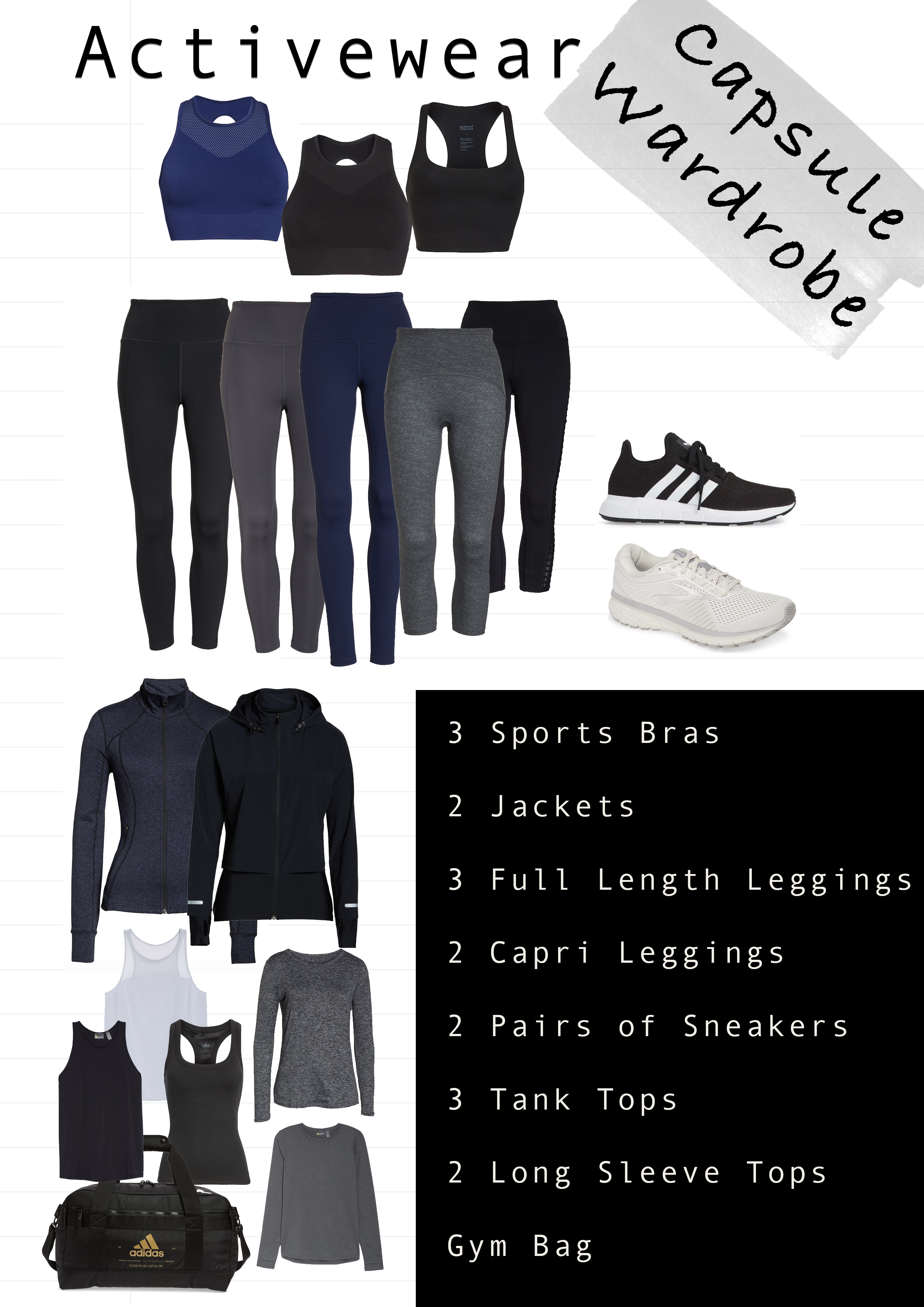 Workout Clothes Capsule